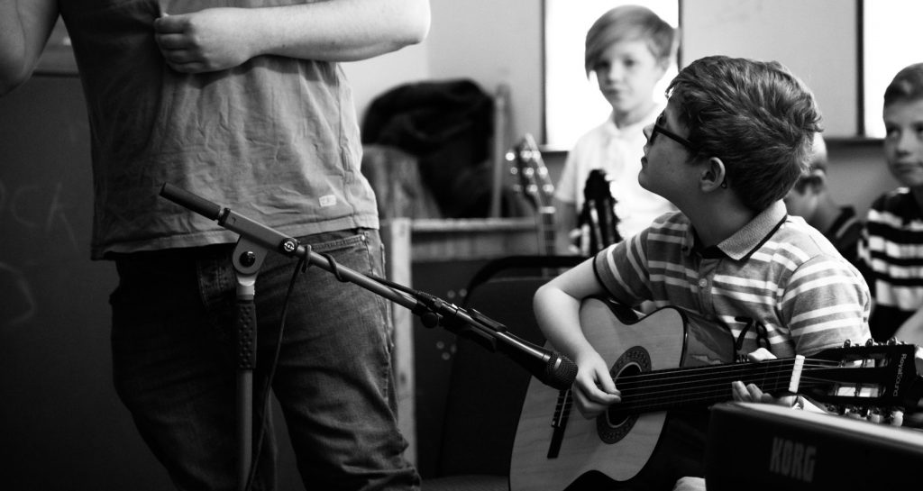 Guitar tuition learning in Kilcock